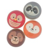RTD-4514 - Assorted Rubber Woodland Creature Bouncy Ball