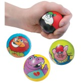 RTD-4515 - Assorted Foam Animal Balls