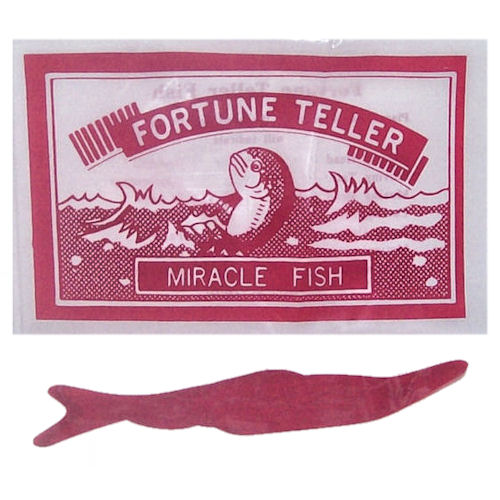 Fortune teller miracle fish for Fortune teller fish
