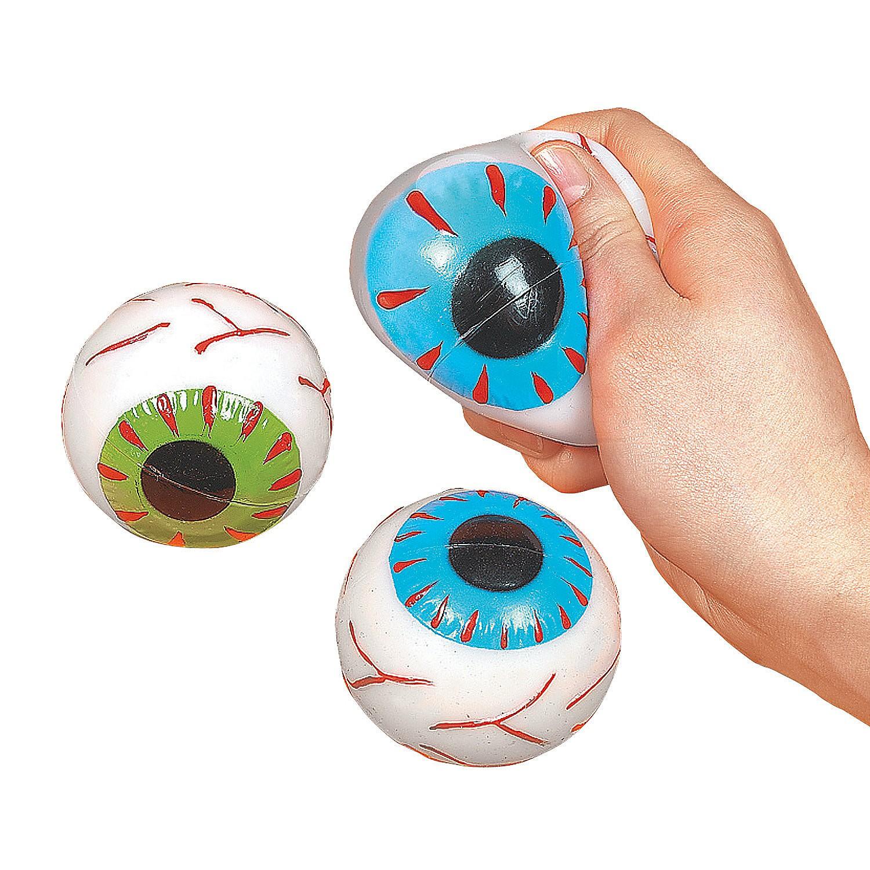 Squishy Ball With Eyes : Eyeball Sticky Squishy Splat Ball
