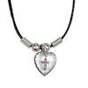 RTD-1101 - Plastic Cross Hologram Necklace