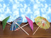 RTD-1102 - Mixed Drink Parasol Luau Little Umbrella