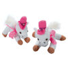 RTD-1171 - Plush White and Pink Cowgirl Show Horses