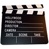 RTD-1279 - 8 x 7 Wooden Hollywood Movie Directors Clapboard