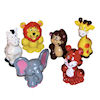 RTD-1386 - Assorted Vinyl 2 inch Cute Zoo Animals
