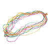 RTD-1415 - Small Plastic Mardi Gras Beads Necklace