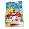 RTD-1433 - Farm Animals Activity Pad with Crayons