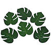 RTD-1462 - 12-pack Large 8 inch Polyester Tropical Fern Palm Leaves
