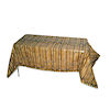 RTD-1469 - 9 foot Bamboo Plastic Table Cover