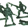 RTD-1497 - 144 pack of Green Plastic Army Men Toy Soldiers