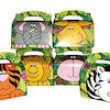 RTD-1519 - Zoo Animal Head and Tail Party Treat Boxes