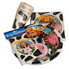 RTD-1620 - Cow Print Farm Party Tableware Set w/Invitations