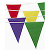 RTD-1627 - Party Pennant Banner 100 feet w/48 Flags