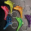 RTD-1787 - Plastic Dolphin Key Chain