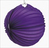 RTD-1815 - Paper Purple Luau Party Lantern