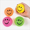 RTD-1844 - Foam Smile Face Neon Stress Relax Squeeze Balls