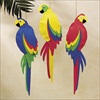 RTD-2089 - Foam Jumbo Colorful Tropical Luau Parrot