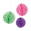 RTD-2123 - Large Colorful Pastel Tissue Ball