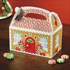 RTD-2145 - Christmas Gingerbread House Treat Boxes