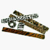 RTD-2148 - Jungle Safari Animal Print Fuzzy Slap Bracelets