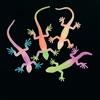 RTD-2166 - Plastic Glow-In-The-Dark Neon Lizards
