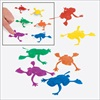 RTD-2203 - Plastic Jumping Frog Party Favor