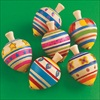 RTD-2225 - Classic Wooden Painted Spinning Top