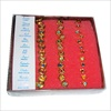 RTD-2294 - Box of 36 Heart and Flower Birthstone Rings for Kids