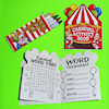 RTD-2406 - Circus Carnival Activity Games Book with Crayons
