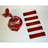 RTD-2483 - Red Striped Cellophane Party Favor Treat Bags