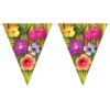 RTD-2538 - Tropical Luau Beach Party 12 ft Pennant Banner