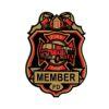RTD-2548 - Little Firefighter Fire Chief Fireman Badge