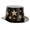 RTD-2549 - Mini Magician Top Hat with Gold Stars