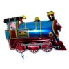 RTD-2552 - 30 inch Blue Train Engine Mylar Party Balloon
