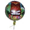 RTD-2577 - 18 inch Tiki God Luau Balloon Mylar Foil Balloon