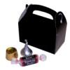 RTD-2623 - Mini Black Treat Box for Party Favors