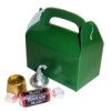 RTD-2625 - Mini Green Treat Box for Party Favors