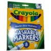 RTD-2639 - 8 pk Crayola Washable Markers Broad Line Classic Color