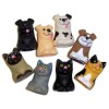 RTD-2658 - Assorted Dogs and Cats Finger Puppets