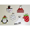 RTD-2665 - Winter White Christmas Snow Holidays Enamel Metal Charms
