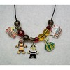RTD-2750 - Fall Thanksgiving Charms 24 inch Necklace