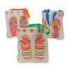 RTD-3171 - Canvas Flip Flop Tote Bag