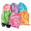 RTD-3515 - Polyester Tie-Dyed Drawstring Bag