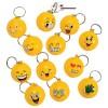 RTD-3611 - Goofy Smiley Face Emoji Stress Ball Keychain