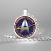 RTD-3620 - Starfleet Command Pendant Necklace