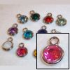 RTD-3631 - 12-Pack of Birthstone Color Acrylic Jewel Charms for Crafts