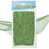 RTD-3724 - Sailor's Decorative Green Fish Net - 12 ft x 4 ft