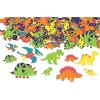 RTD-3892 - 250-Pack of Foam Self-Adhesive Dinosaur Shapes