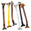 RTD-3914 - Plush Jungle Animal Bookmarks