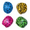 RTD-3922 - Neon Zoo Animal Safari Print Kick Balls
